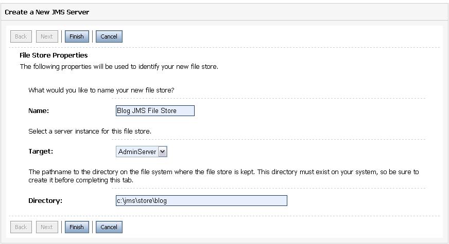 File Store Info